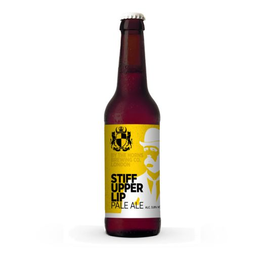 Label / beer / By The Horns - Stiff Upper Lip