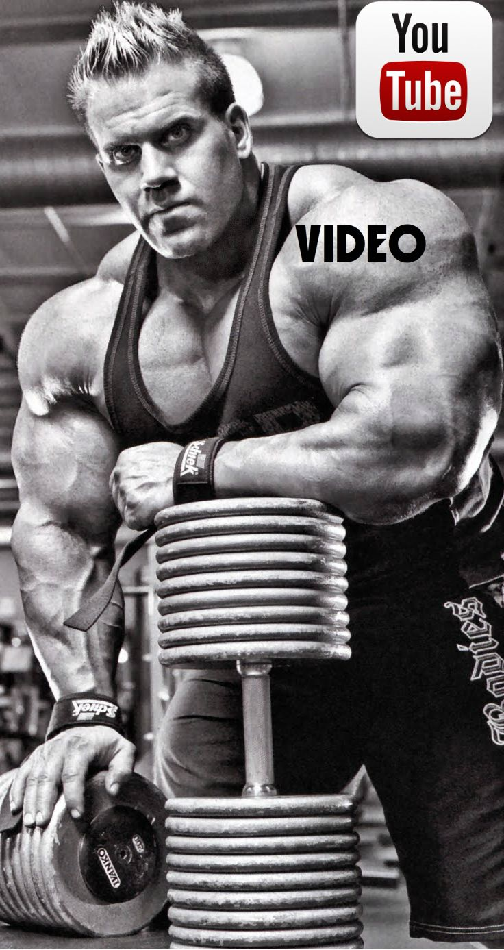 Jay Cutler #Bodybuilding #Gym #Fitness #Workout #Exercise #Training  #Video #Motivation