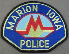 Marion Police Department Iowa