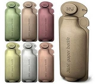 Type of Cardboard water bottle