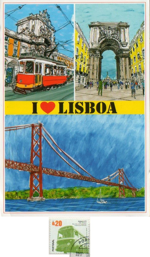 PRT-402 - Arrived: 2017.04.24   ---   Lisbon is the capital and the largest city of Portugal. It is continental Europe's westernmost capital city and the only one along the Atlantic coast. Lisbon lies in the western Iberian Peninsula on the Atlantic Ocean and the River Tagus. Lisbon is recognised as a global city because of its importance in finance, commerce, media, entertainment, arts, international trade, education and tourism It is one of the major economic centres on the continent.