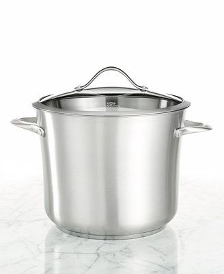 Calphalon Contemporary Stainless Steel 12 Qt. Covered Stockpot