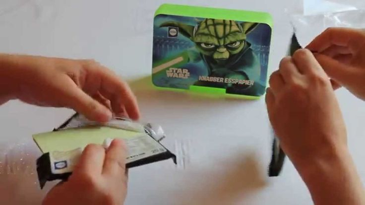Candy Quest #13 Edible Paper by Küchle - Star Wars Food??