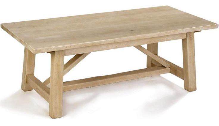 This Primative solid oak refectory Table with this new bleached oak finish, takes on quite a contemporary feel. This table looks entirely different with one of our standard distressed finishes - equally stunning.