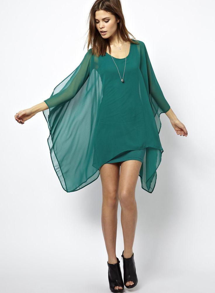 17 Best ideas about Long Sleeve Chiffon Dress on Pinterest | Print ...