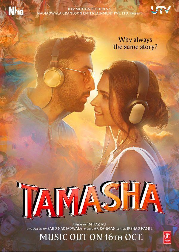 #TamashaMusicOn16thOct #ImtiazAli @deepikapadukone #RanbirKapoor #SajidNadiadwala