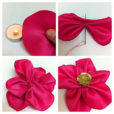 another flower tutorial! dang i need to get a glue gun and some needles and thread ASAP so i can craft away :)