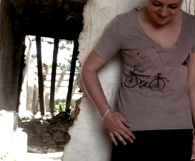 camiseta PIPE ON THE BIKE I   mujer   22€