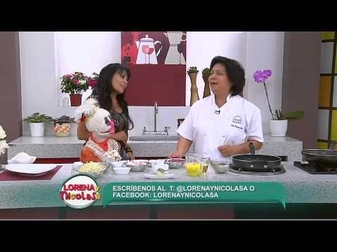 Lorena y Nicolasa: sepa cómo preparar carne salteada con verduras (1/3) - YouTube