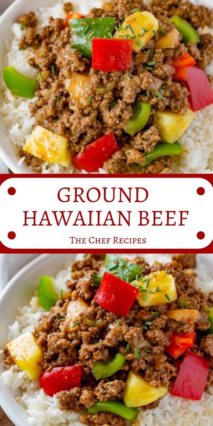 Hipertekin Ground Hawaiian Beef Healthy Ground Beef Beef Dinner Stuffed Peppers