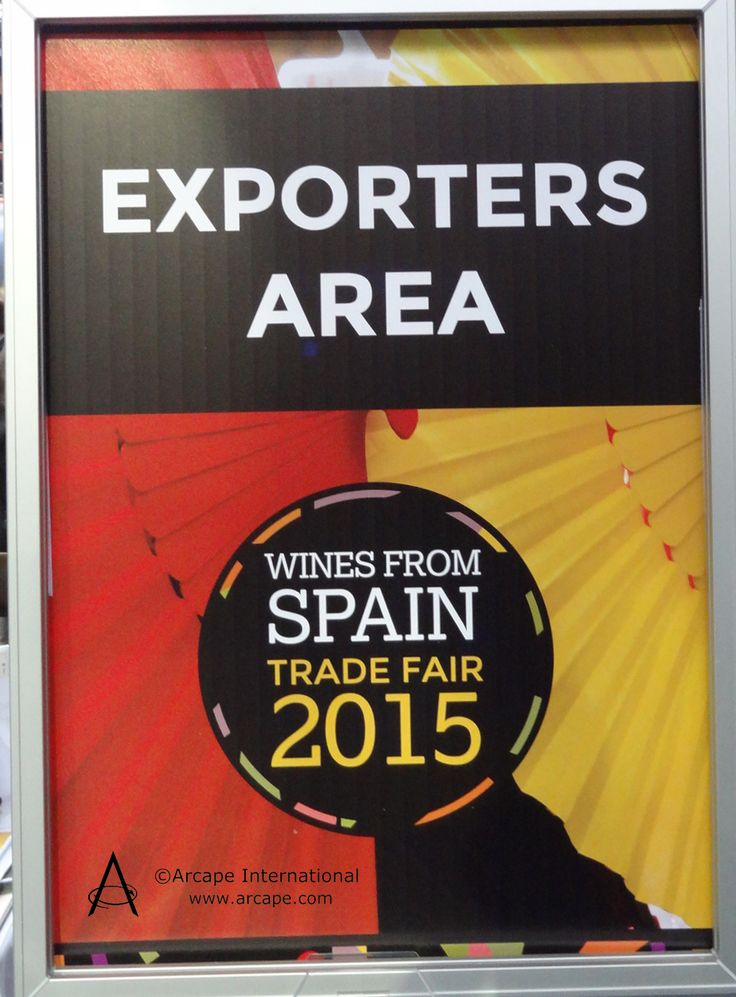 The Exporters area of the Wines from Spain show is a zone in which wine that is new to the UK is exhibited.