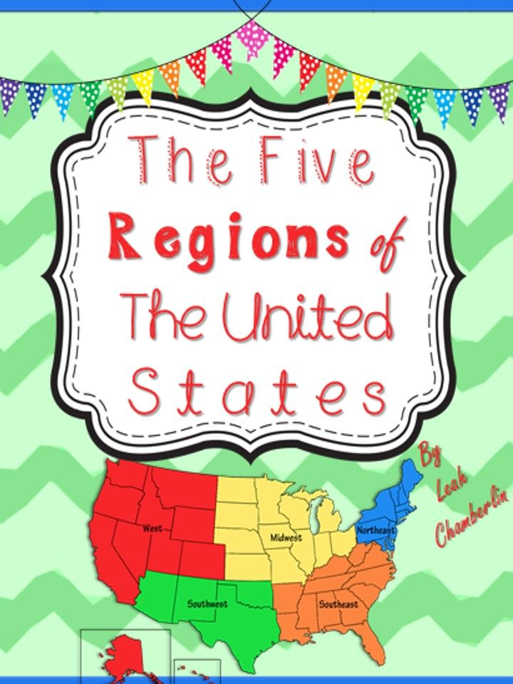 Best Regions Of The United States Images On Pinterest United - Us map states regions