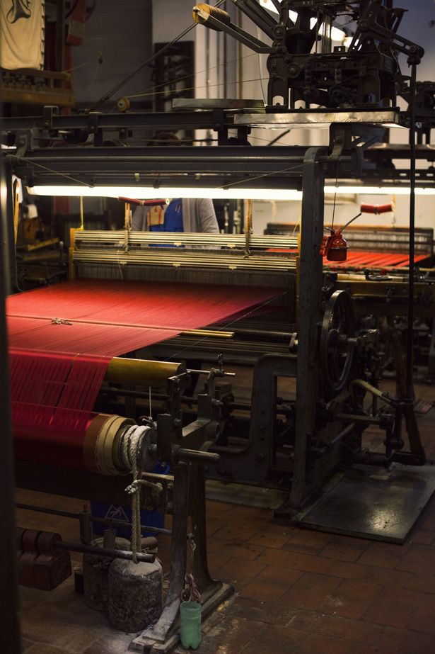 Antico Setificio Fiorentino is the oldest silk-weaving workshop in Florence, in operation since 1786 with roots back to the Medici in the 15thC