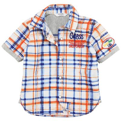 Guess - Blue and red checked shirt - 60391