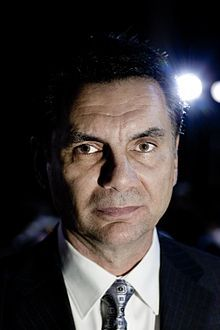 Michael Franzese 2009,caporigime for the columbo family in the eighties  son of Sonny Franzese,he no longer associated with organized crime