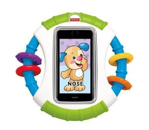 The Fisher-Price Apptivity Case iPhone And iPod Edition: Fisher-Price Laugh & Learn Apptivity Case lets babies enjoy their very own apps while protecting mom or dad's iPhone or iTouch. Durable case has easy-grasp handles sized just right for baby to hold and protects your device from baby's dribbles & drool. http://www.podies.com/the-fisher-price-apptivity-case-iphone-and-ipod-edition-3/