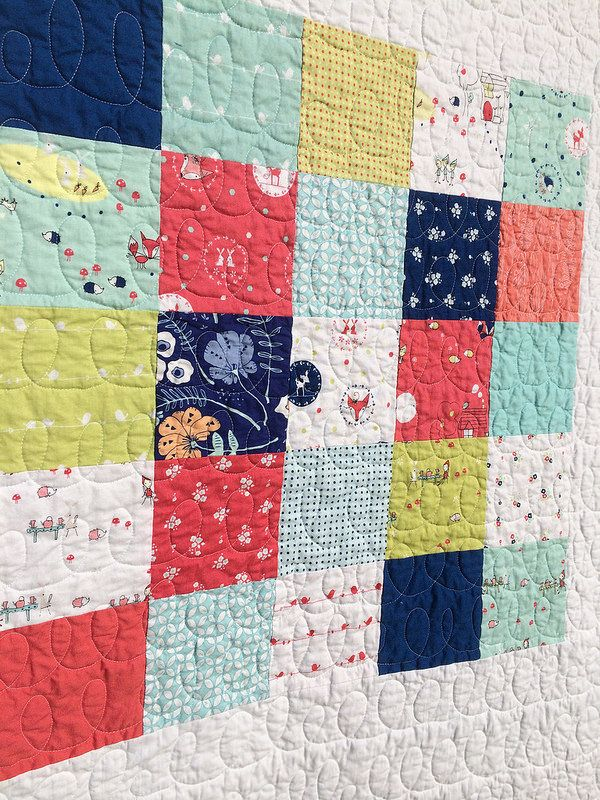 Enchant Patchwork Quilt from Sweet Feet Stitches