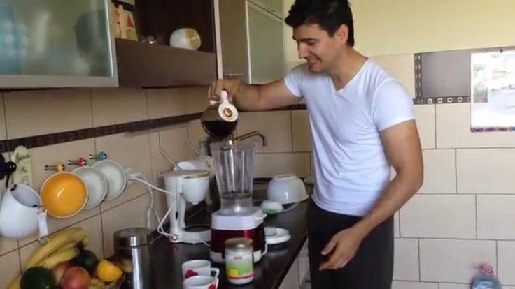 Cafea sportaholica - cu ulei de cocos - YouTube