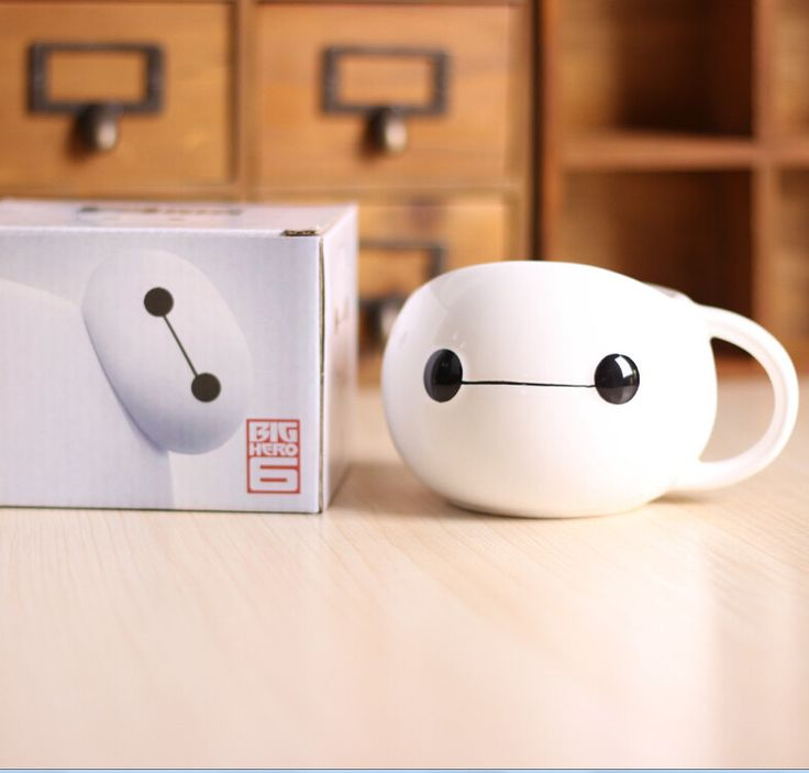 Cute Baymax Cup. OH MY GOODNESS I WANT 10