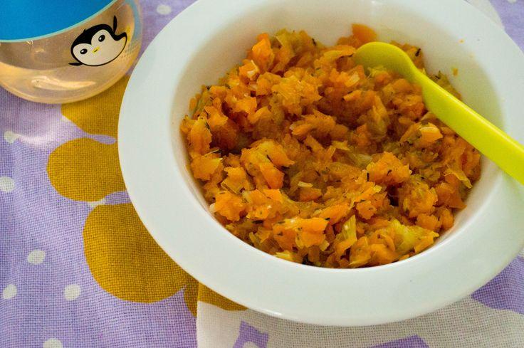 In de begin fase van vaste voeding is het verstandig je baby ook te introduceren aan kruiden. Bijvoorbeeld wortel en prei met tijm.