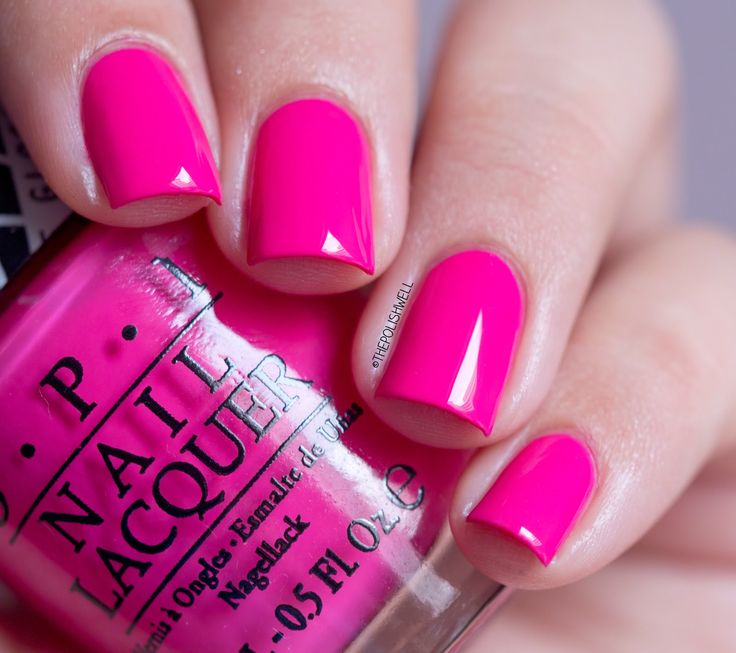Fluorescent Neon Pink Nail Polish: The 25+ Best Bright Pink Nails Ideas On Pinterest