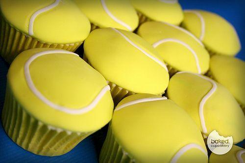 17 Best Ideas About Tennis Cupcakes On Pinterest Tennis