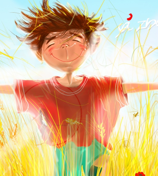 thoughts about childhood by olaru ionut robert, via Behance