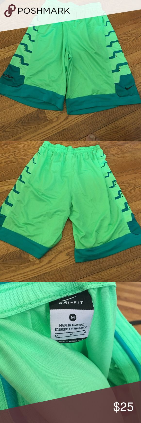 Mens Lebron James basketball shorts Mint condition. Worn once. Nike Shorts Athletic