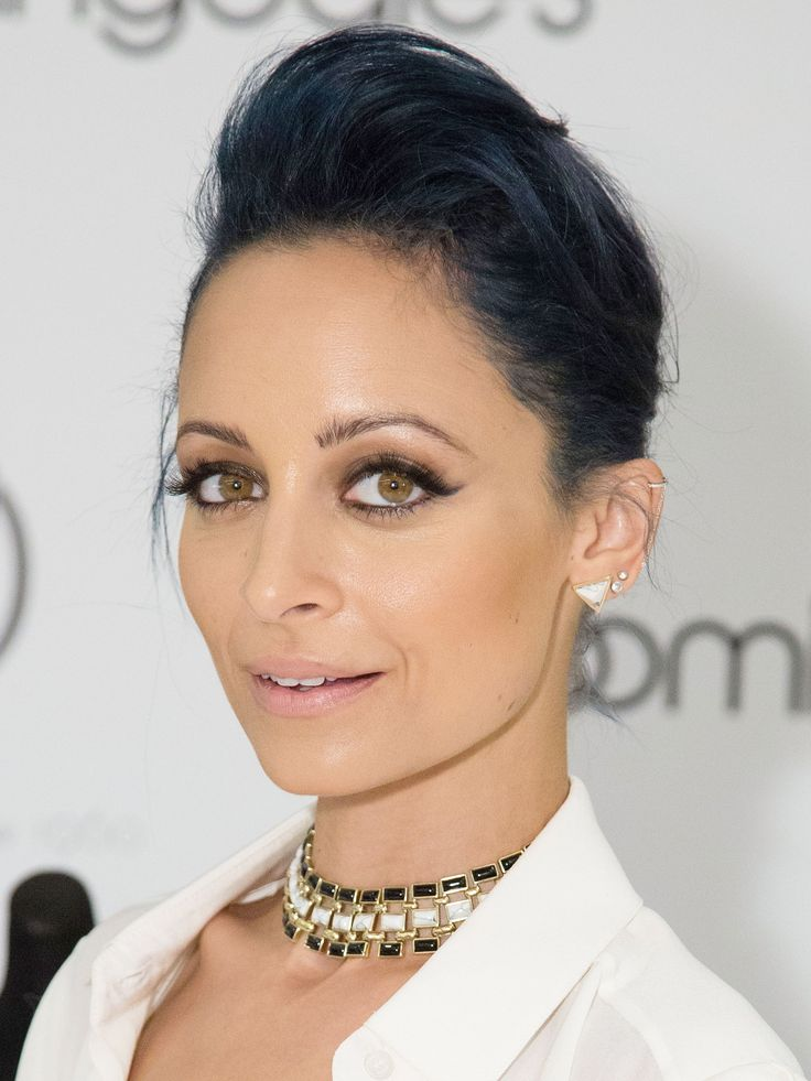 Nicole Richie If you're a celebrity—or a Marge Simpson—you can get away with blue hair. For the rest of us, Revlon ColorSilk Luminista in Violet Black ($4.49) creates a subtler, more work-appropriate effect. Getty Images   - Redbook.com