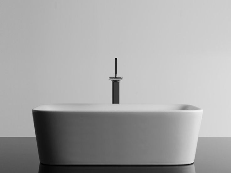 Lavabo da appoggio rettangolare SOUL 2 Collezione Soul by Valdama | design Monia Marzano