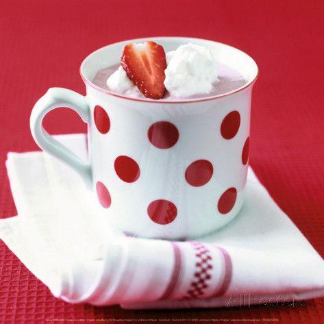 Creamy Strawberry Posters by Alena Hrbkova at AllPosters.com