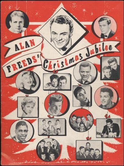 Alan Freed's Christmas Jubilee - programme 1958