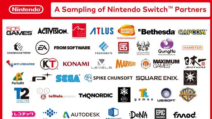 """Nintendo Switch ist eine Videospielkonsole von Nintendo. Sie war vor der Ankündigung unter dem Codenamen """"Nintendo NX"""" bekannt und erscheint 2017."""