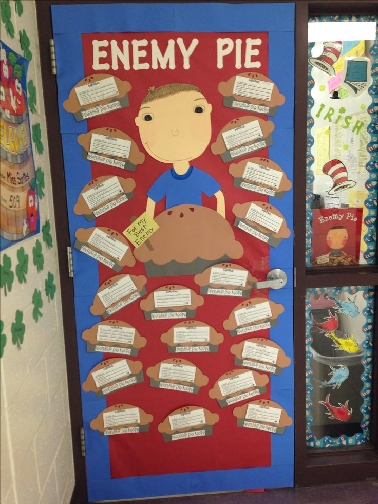Enemy pie! Read across America week!