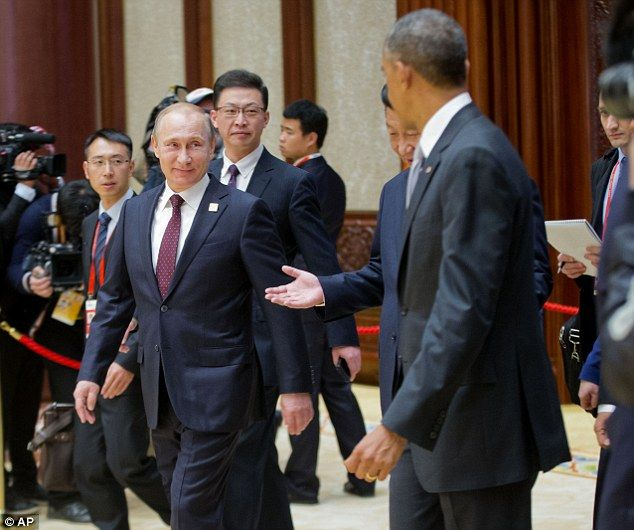 Best VLADIMIR PUTIN Images On Pinterest Chinese Aliens And - Photo of obama and putin death stare sparks hilarious photoshop responses