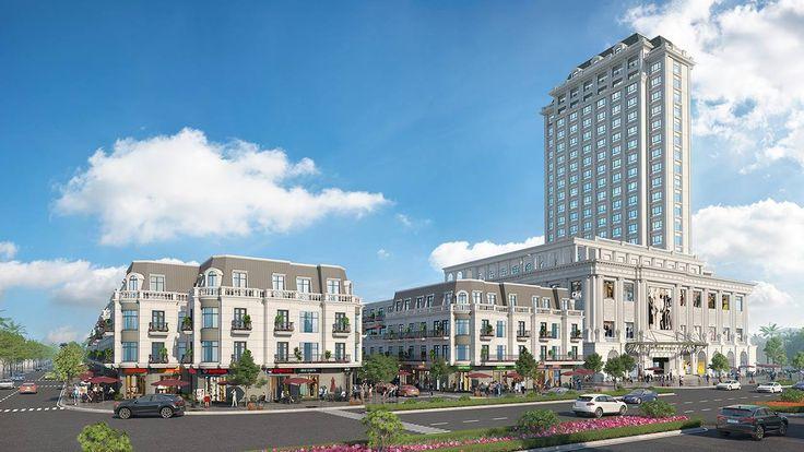 Tổ hợp Khách sạn 5 sao – TTTM Vincom Plaza – Vincom Shophouse Tây Ninh