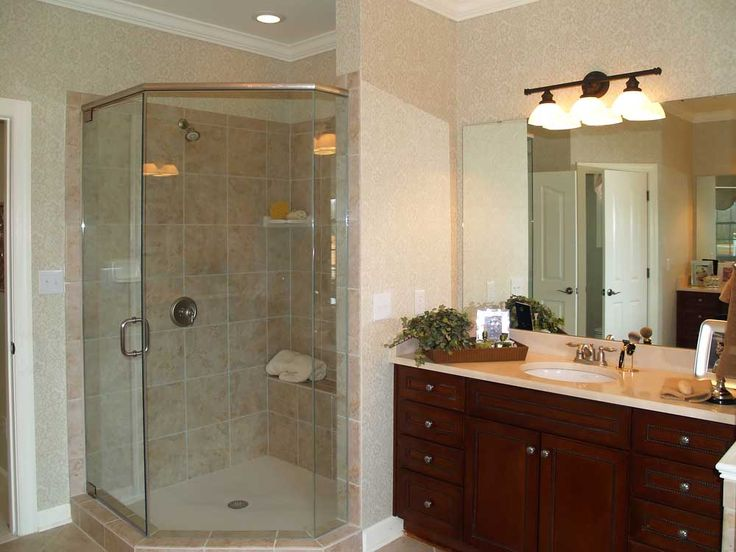 164 Best Images About Corner Shower For Small Bathroom On