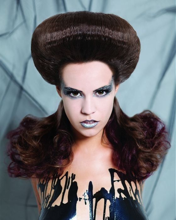 Outstanding 1000 Images About Avant Garde Fantasy Hairstyles On Pinterest Short Hairstyles Gunalazisus