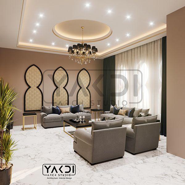 Riyadh Family Hall Stair On Behance In 2021 Home Decor Home Decor