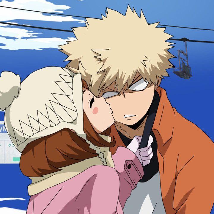Katsuki Bakugou X Uraraka Ochako Boku No Hero Academia Anime Anime Love Couple My Hero Academia