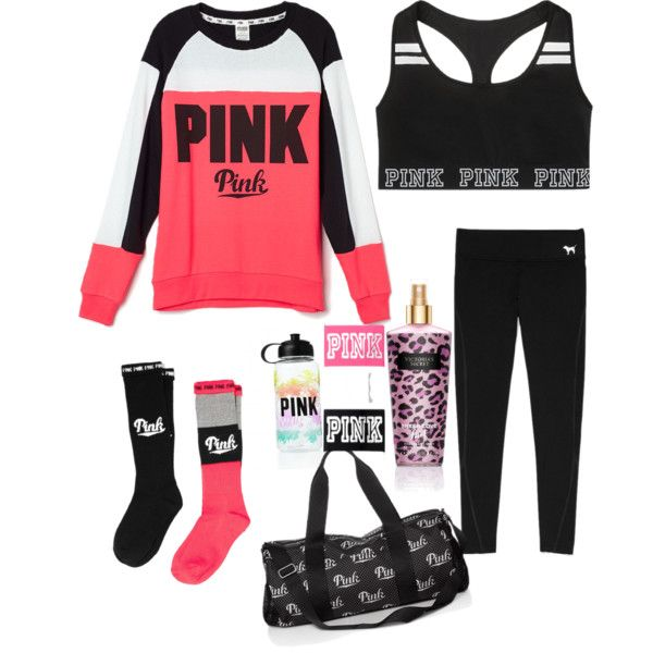 Victoria Secret's Pink by anaisonedirection on Polyvore featuring Victoria's Secret and Victoria's Secret PINK