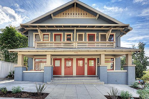 14 best images about quadplex on pinterest for Cost to build a fourplex