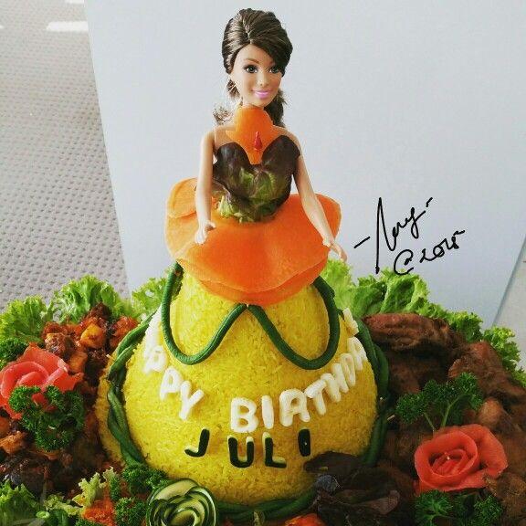 Beautiful food for beautiful birthday girl