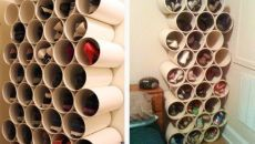 Desain Rak Sepatu Hemat Ruang PVC » Gambar 4