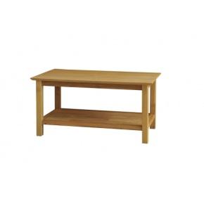 Canterbury Solid Oak MNT18 915mm Coffee Table  www.easyfurn.co.uk