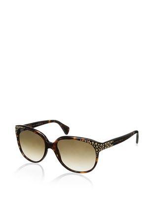 Alexander McQueen Women's 4212/S Sunglasses, Havana