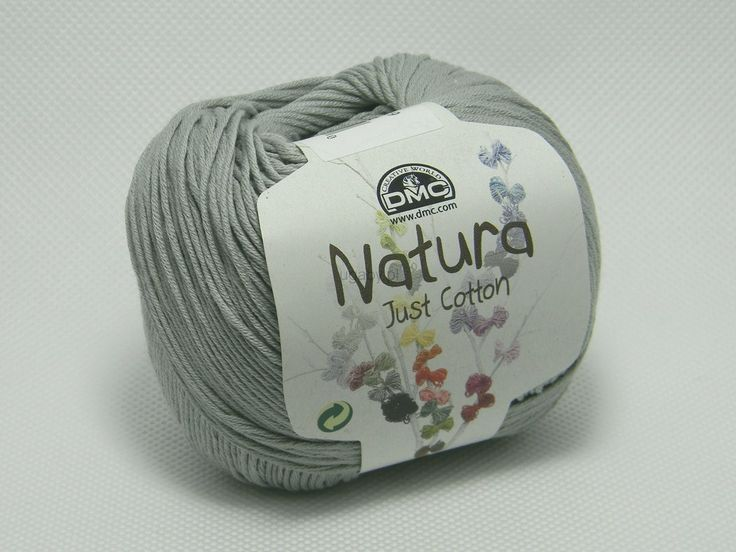 włóczka natura just cotton kolor szary sklep internetowy