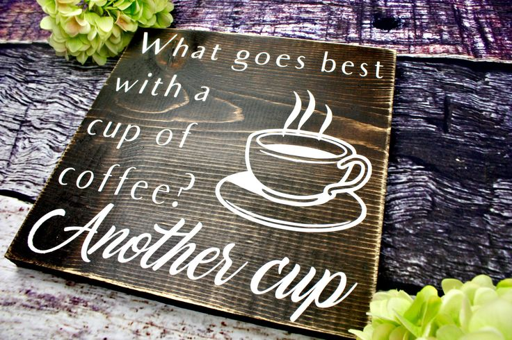 Coffee Sign. Coffee Signs for Kitchen. Gift for Her. Gift for Him. Housewarming Gift. Coffee Decor. Coffee Bar Sign. Wood Coffee Sign. by KDubWoodCreations on Etsy