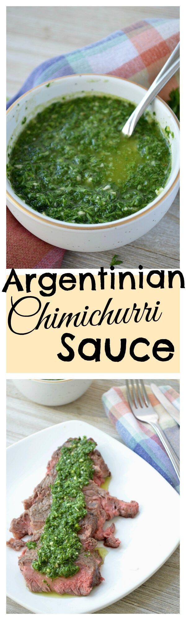 Chimichurri Sauce [Argentina] - Lyndsay's Travel Kitchen
