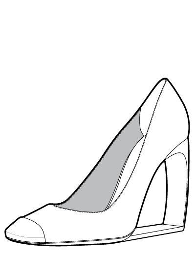 Footwear Tech Sketch Future Heel